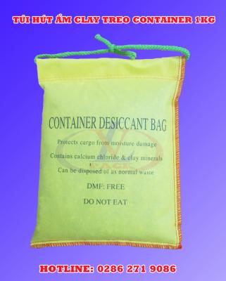 Túi hút ẩm clay treo container