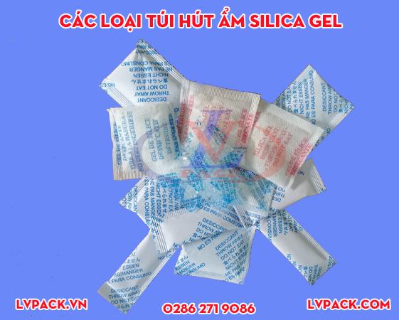 Các loại túi hút ẩm Silica gel