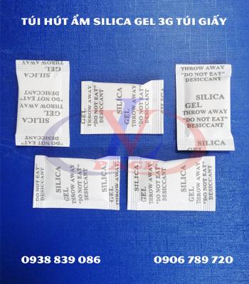 Gói chống ẩm Slicagel 3g túi giấy