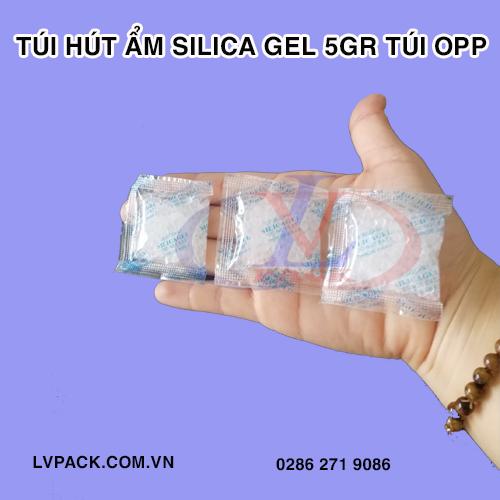 Túi hút ẩm Silica gel 5g túi opp