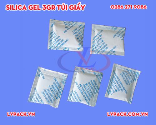 Túi hút ẩm Silica gel 3g túi giấy