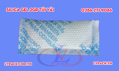 Túi hút ẩm silicagel 2g túi vải