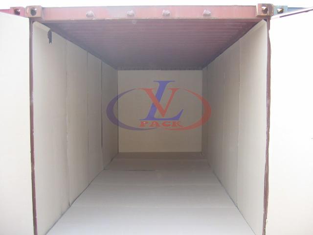 Giấy carton dán container