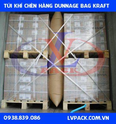 Túi khí chèn hàng giấy kraft