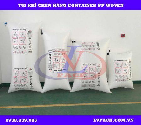 Túi khí chèn hàng 2 lớp pp woven